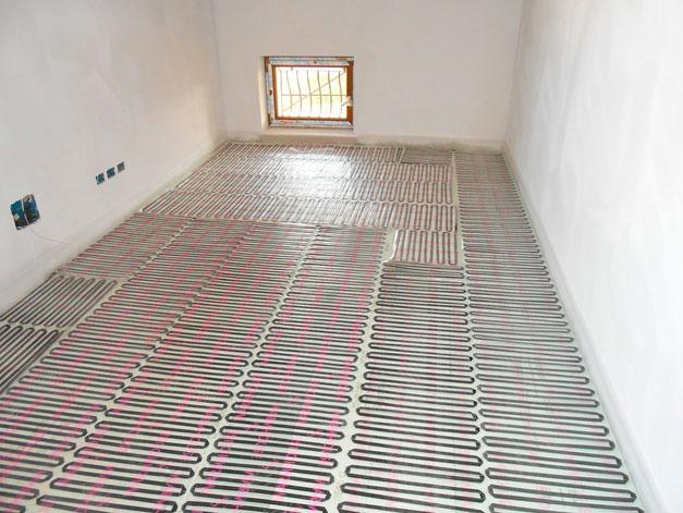 Riscaldamento a pavimento warmset golden house - Tappeto riscaldamento pavimento ...